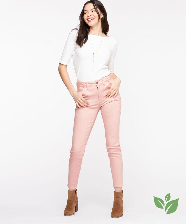 Eco Friendly Utility Jegging, Rose Smoke