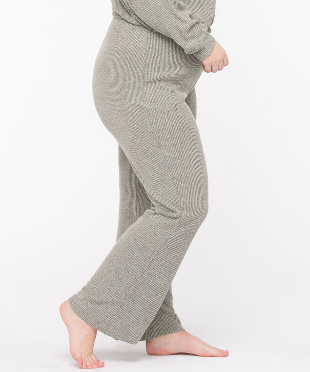 Cozy Ribbed Lounge Pant, Sea Grass, hi-res