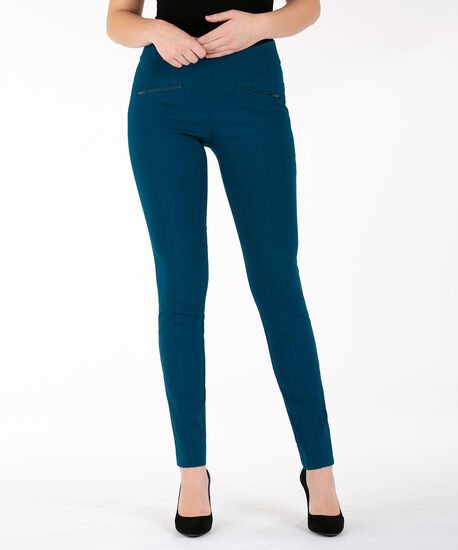Microtwill Slim Leg, Midnight Teal, hi-res
