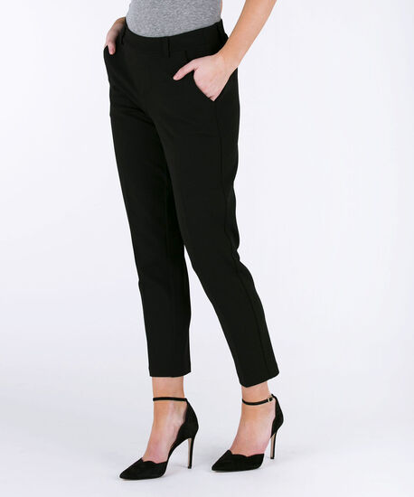 One 5 One Ankle Trouser, Black, hi-res