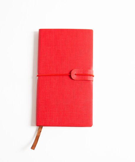 Small Planner Notebook, Red, hi-res