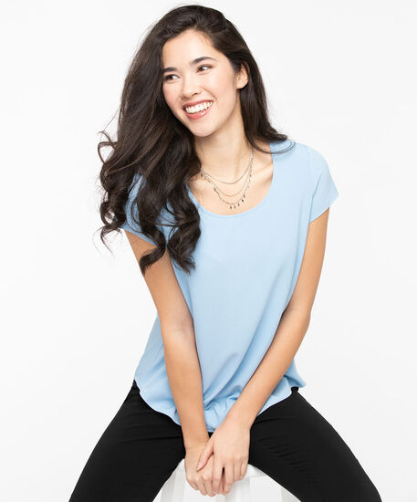 The Everyday Blouse, Sky Blue, hi-res