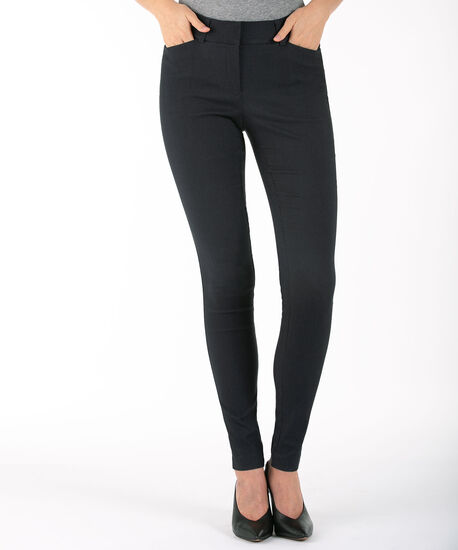 Microtwill Super Slim Leg, Heather Navy, hi-res