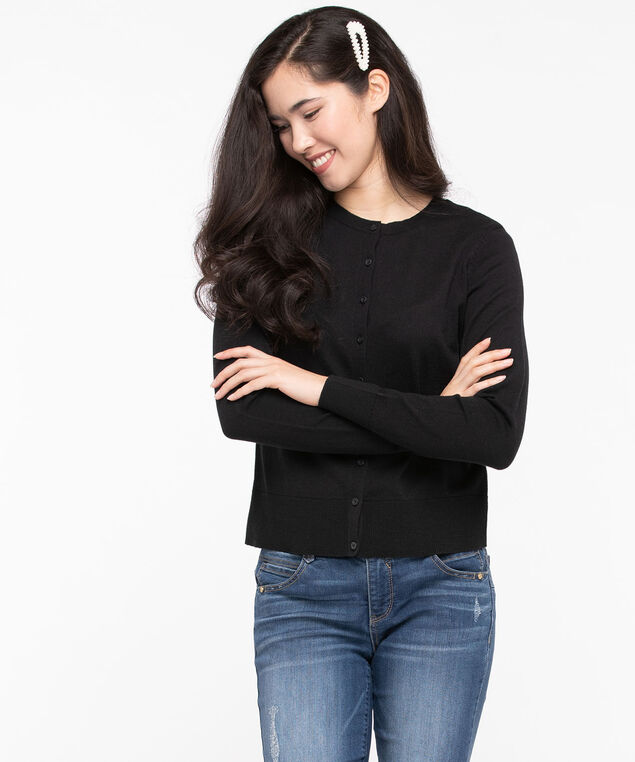 The Everyday Cardi, Black, hi-res
