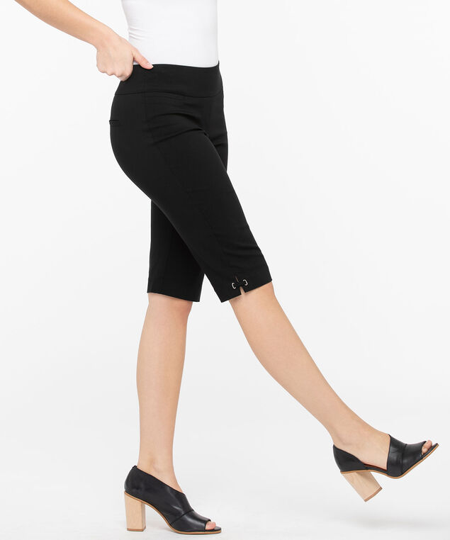 Microtwill Bermuda Short, Black, hi-res