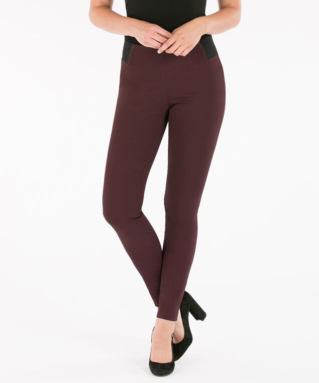 Microtwill Super Slim Leg, Port, hi-res