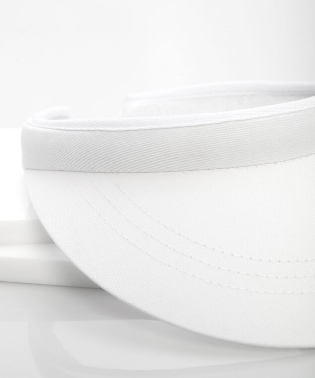 Beach Visor, True White, hi-res