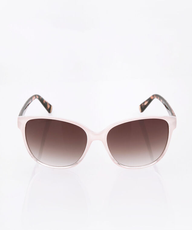 Ombre Cateye Sunglasses, Pink, hi-res