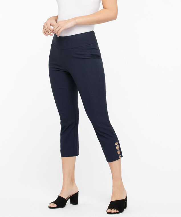 Microtwill Circle Ladder Trim Capri, Summer Navy, hi-res