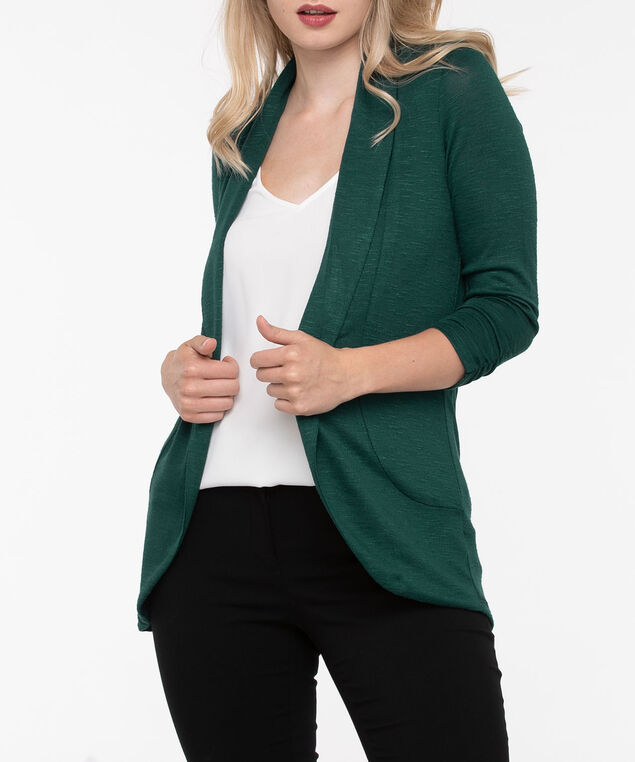 Shawl Collar Cardigan, Ivy, hi-res
