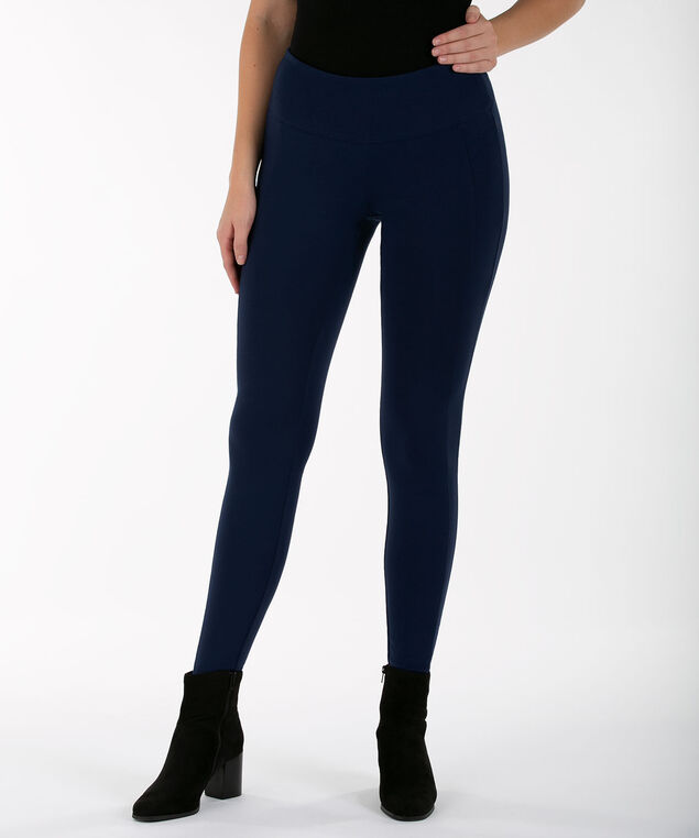 Luxe Ponte Legging, INK BLUE, hi-res
