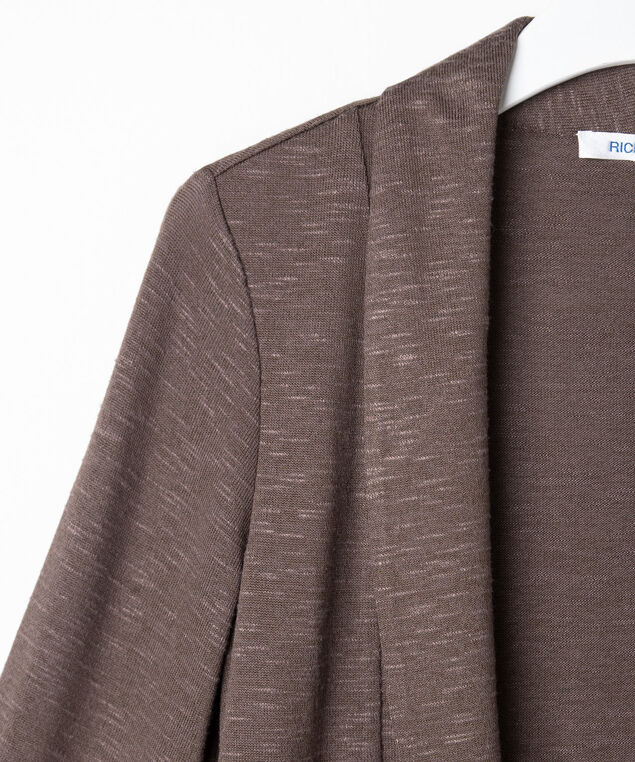 Shawl Collar Cardigan, Praline, hi-res