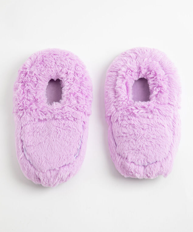 Heated Slippers, Lavender
