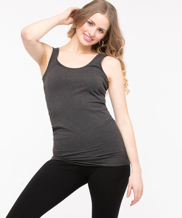 Longer Length Tunic Cami, Iron