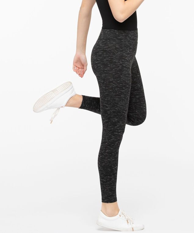 Space Dye Legging, Black Mix, hi-res
