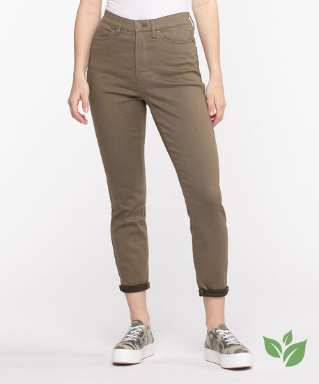 Eco-Friendly Rolled Skinny Leg Jean, Bungee Cord, hi-res
