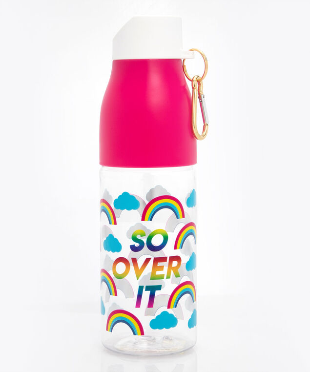 So Over It Water Bottle, Bright Pink/Bright Aqua, hi-res