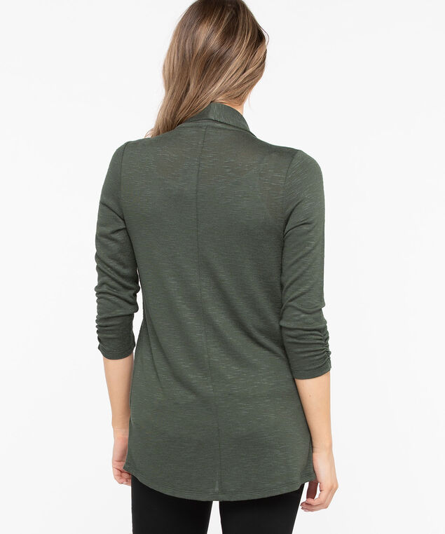 Shawl Collar Cardigan, Basil, hi-res