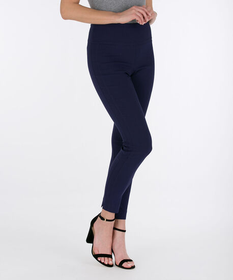 Microtwill High Rise Ankle Pant, Deep Sapphire, hi-res