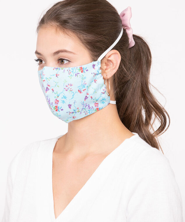 2 Pack of Face Masks, Dusty Rose/Pink/Soft Blue/Lilac/Sage