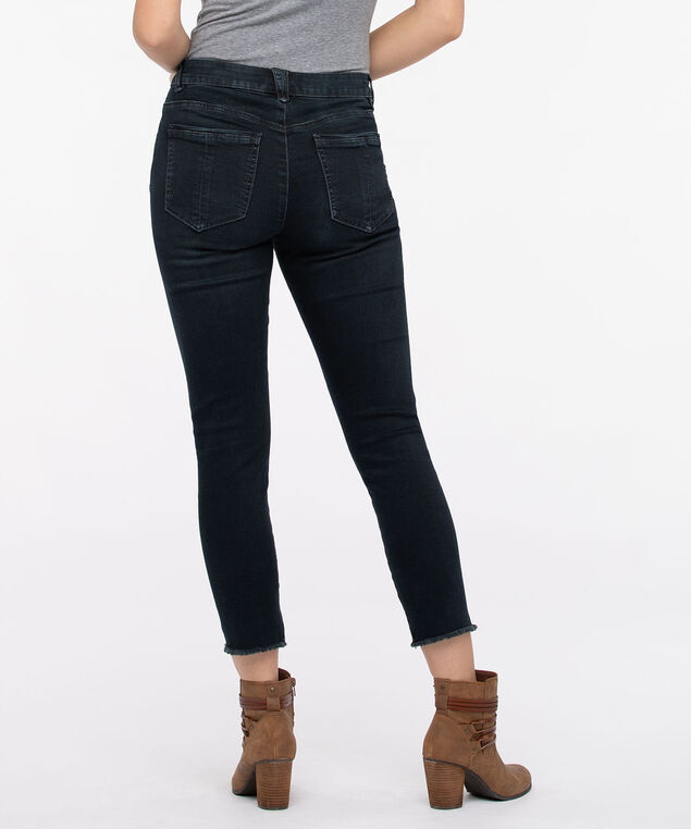Democracy High Rise Seamless Ankle Skimmer Jean, Denim, hi-res
