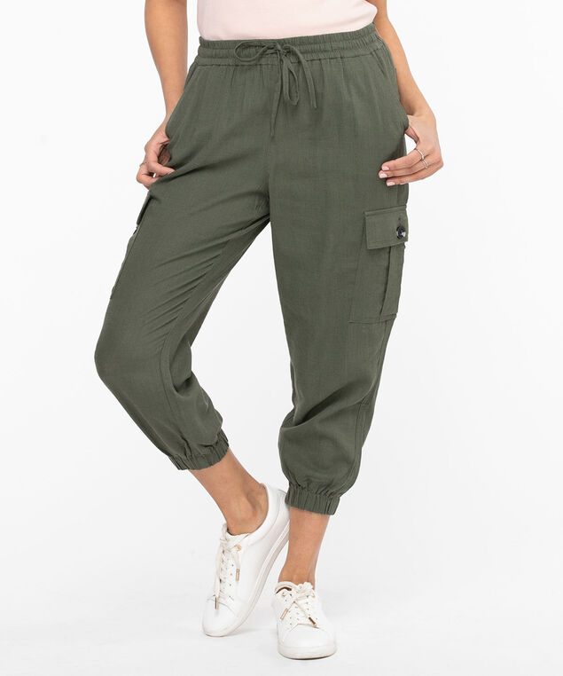 Cargo Jogger Pant, Fern