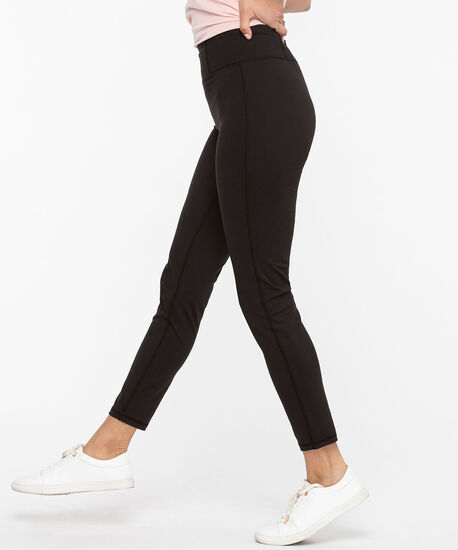 High Waist Yoga Legging, Black, hi-res