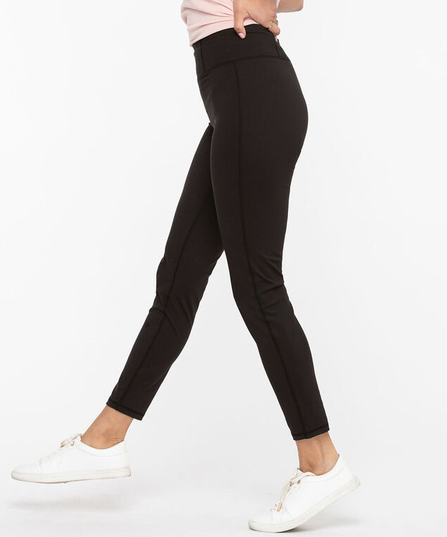 High Waist Yoga Legging, Black