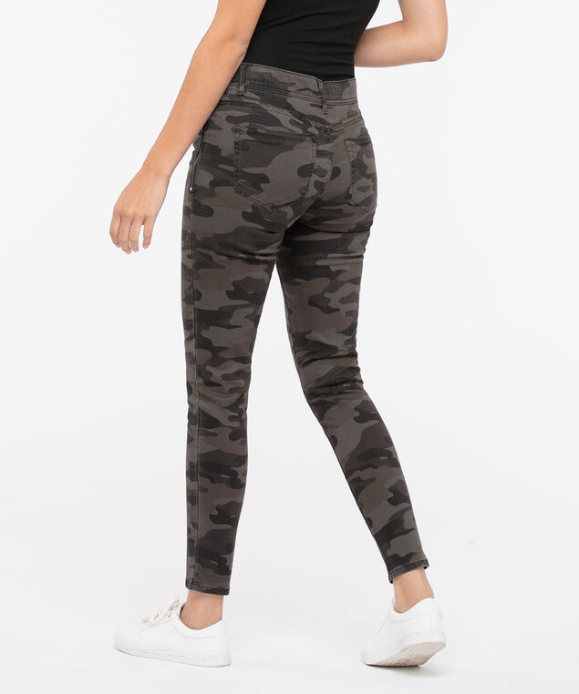 "Democracy ""Ab""solution Camo Jegging, Brown, hi-res"
