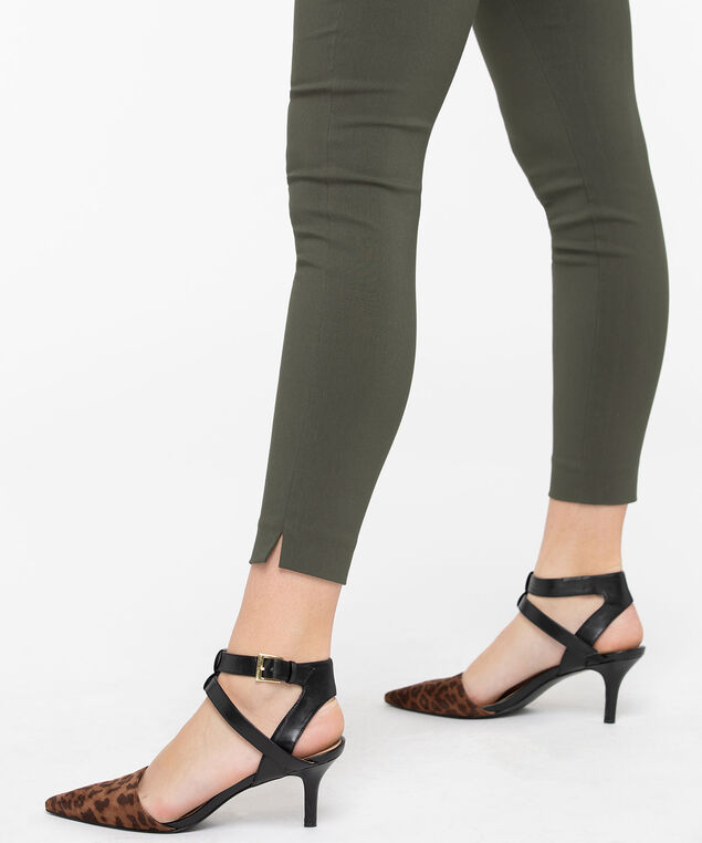 Microtwill High Rise Super Slim - Ankle, Basil, hi-res