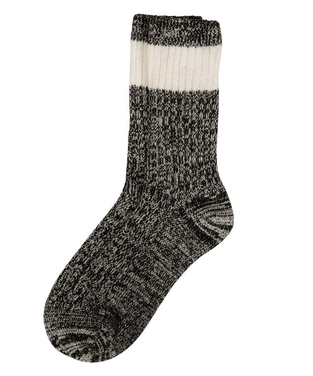 Cabin Socks, Black/Milkshake, hi-res