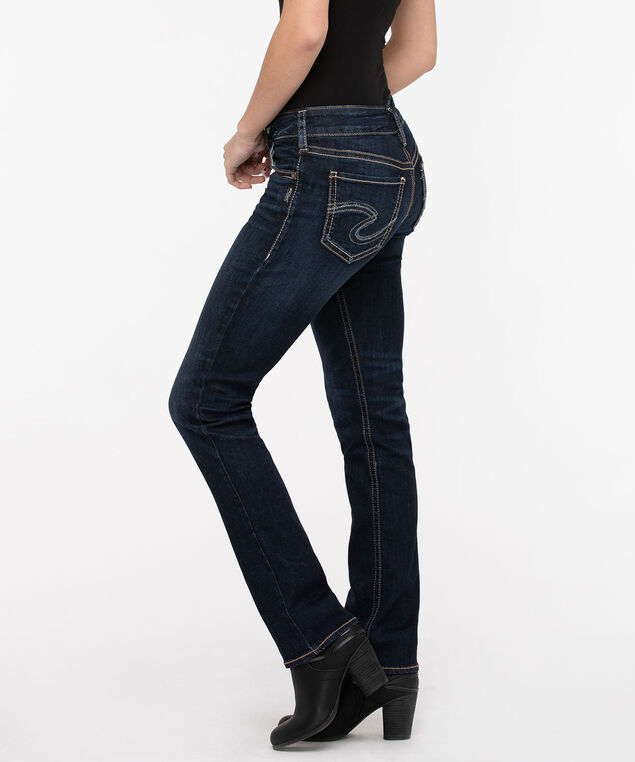 Silver Jeans Co. Suki Straight Leg, Dark Wash, hi-res