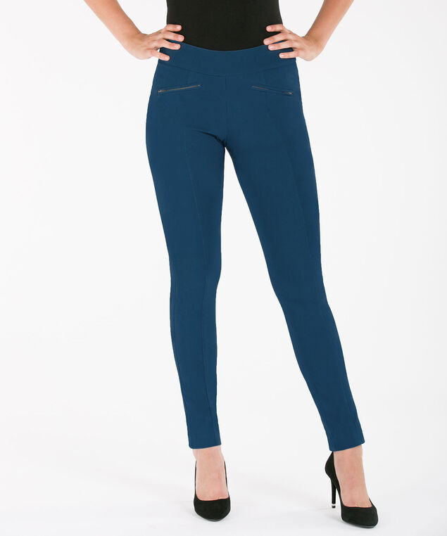 Microtwill Slim Leg, Steel Blue, hi-res