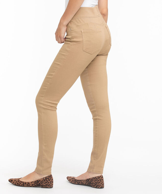 Eco-Friendly Pull-On Jegging, Silver Mink