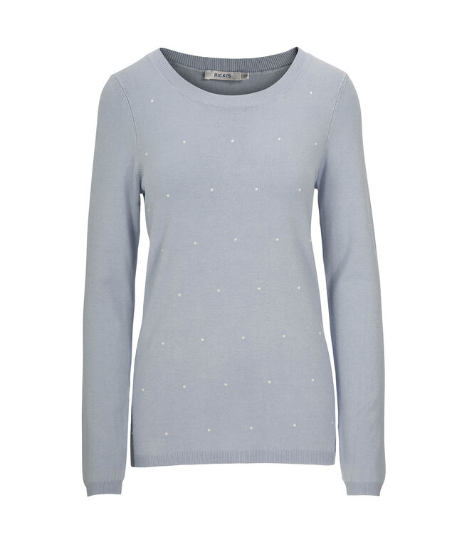 dcdb0d198ee10d ... Pearl Embellished Pullover Sweater