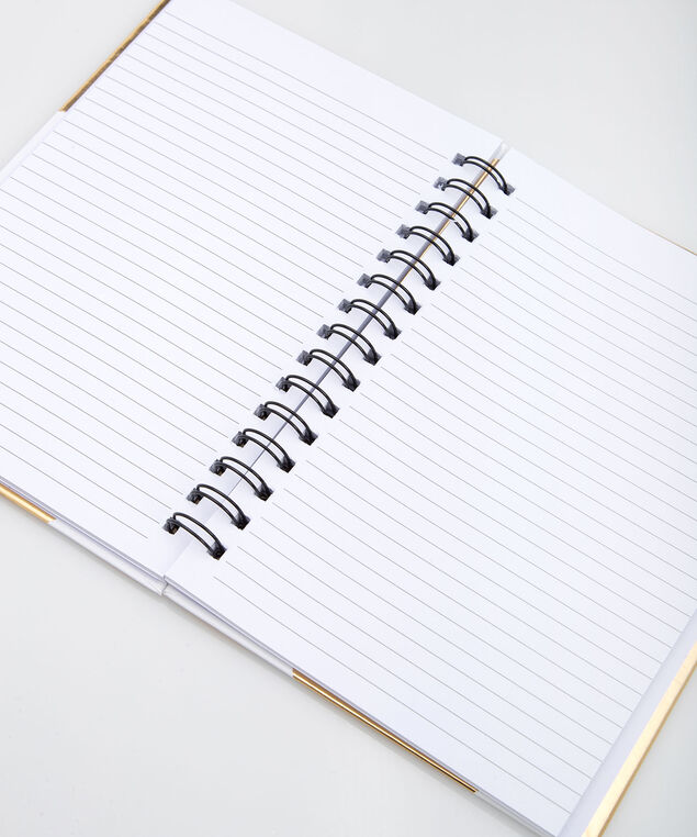 Happy Thoughts Notebook, White, hi-res