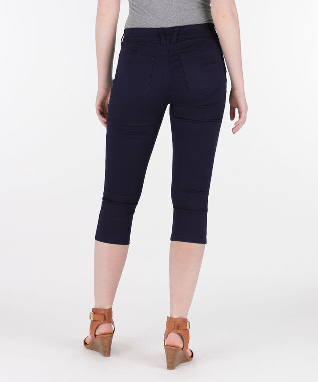 Fly-Front Capri Jegging, Summer Navy, hi-res