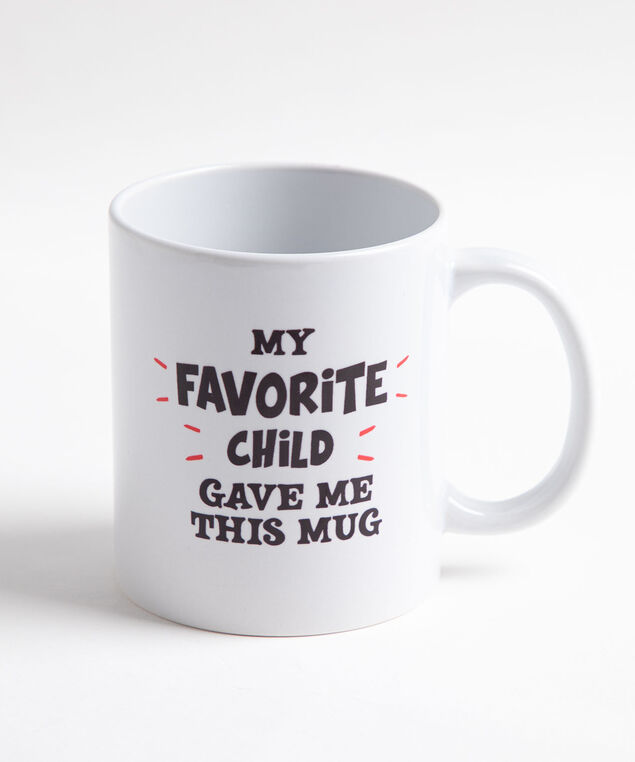 My Fav Child Mug, White