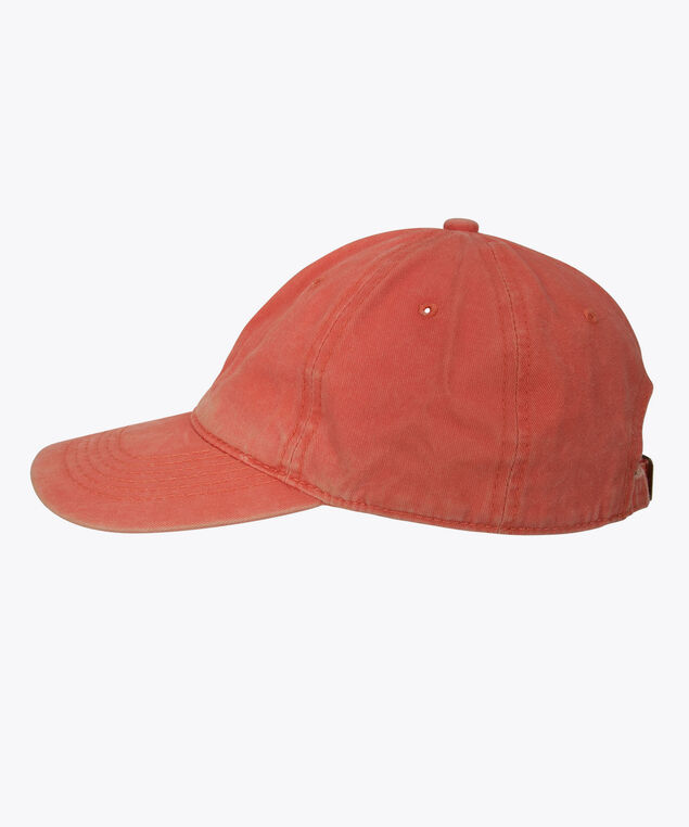 Distressed Baseball Cap, Orange, hi-res