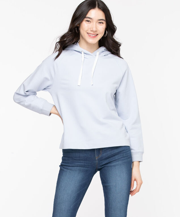 Long Sleeve Hooded Sweatshirt, Heather