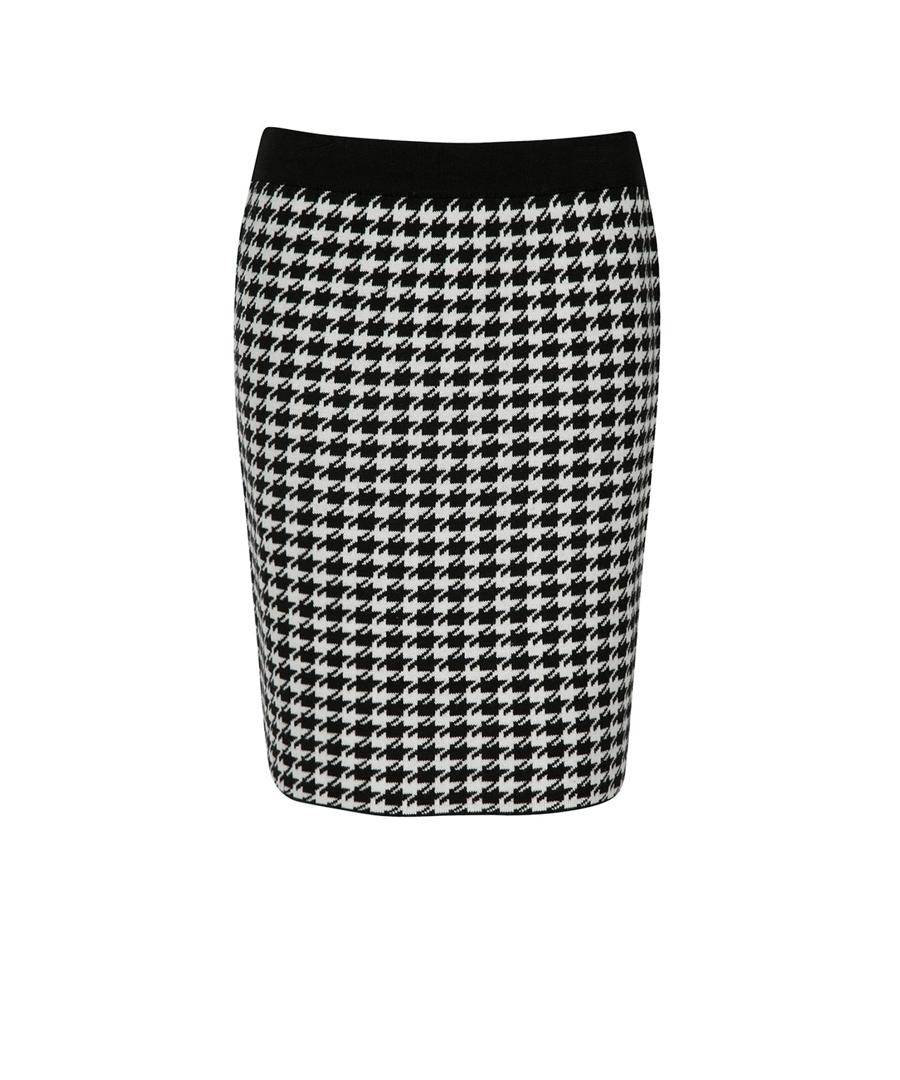 Houndstooth Sweater Knit Skirt | Rickis