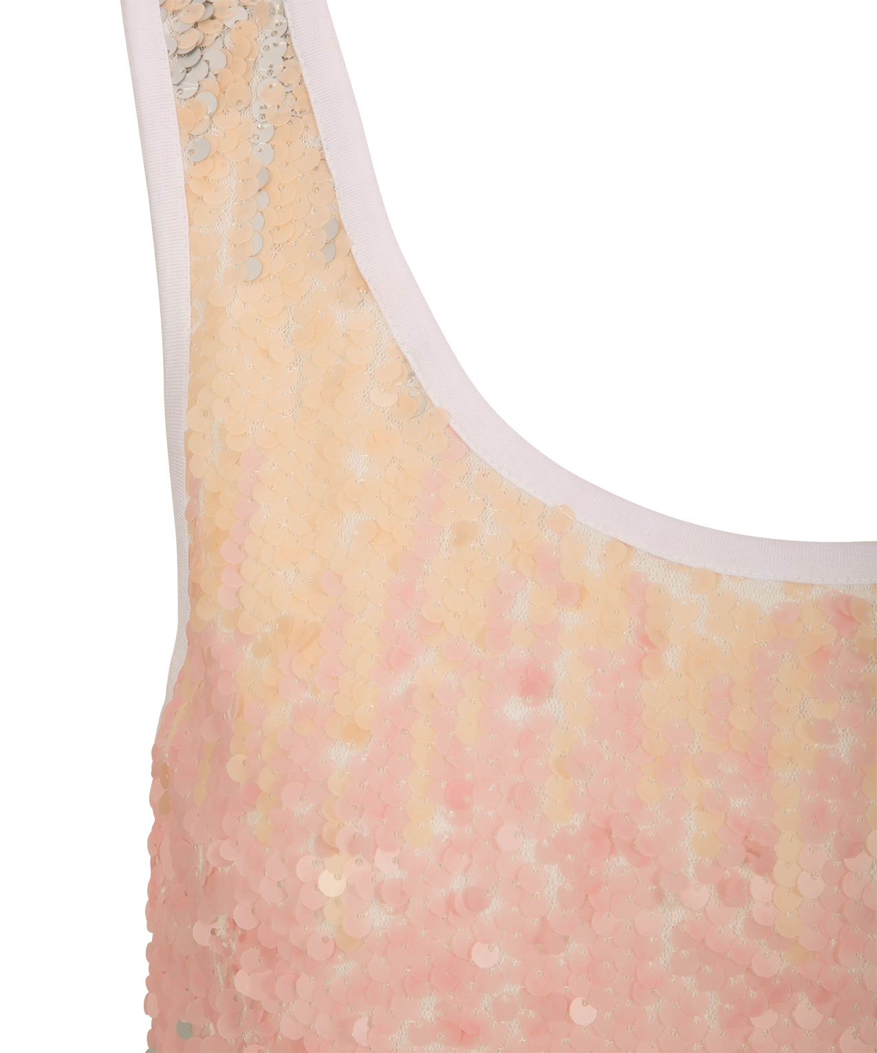 e5e5e40b702 Sequin Ombre Sleeveless Top | Rickis