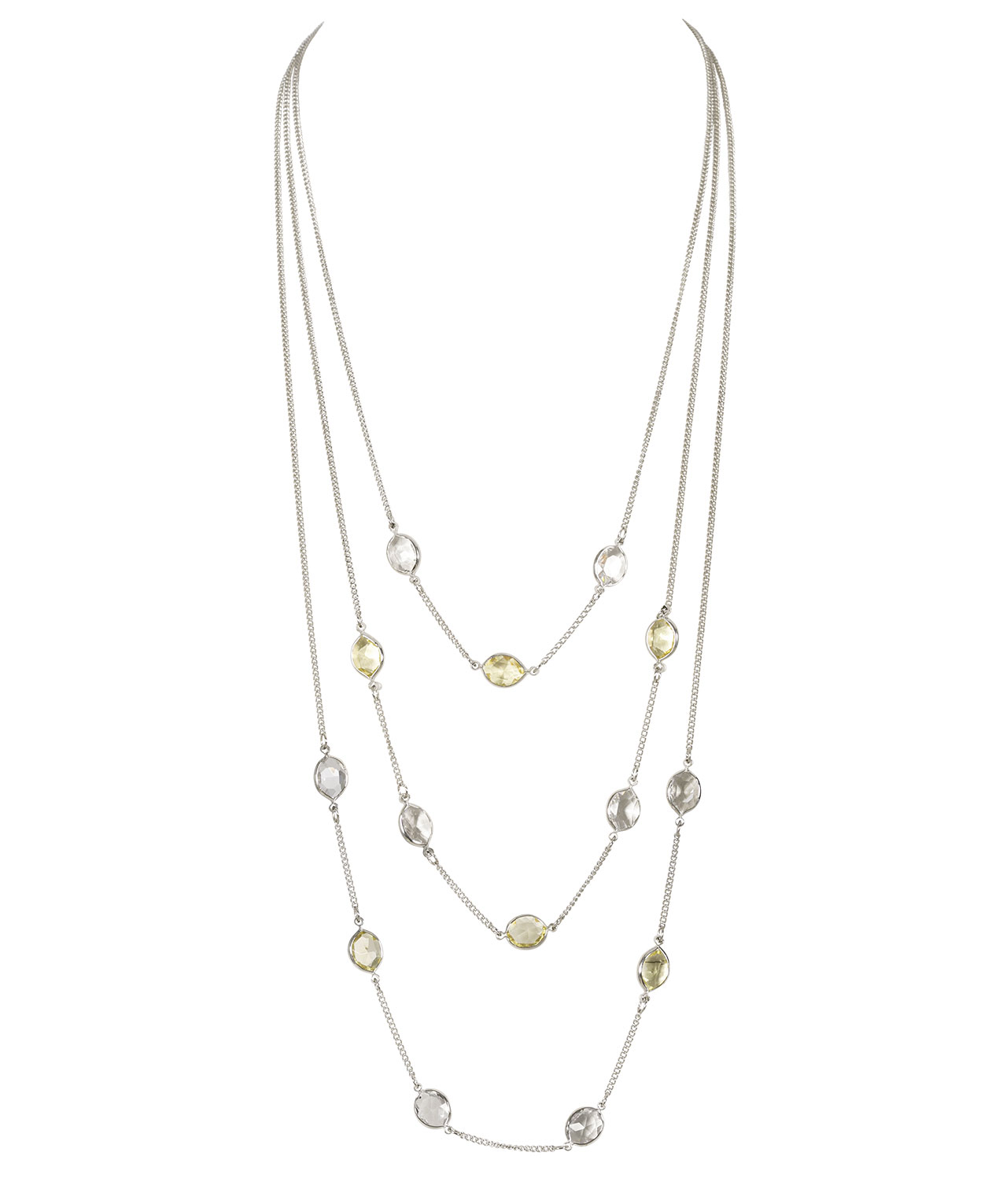 tiered marcella design necklaces modern shop kona necklace