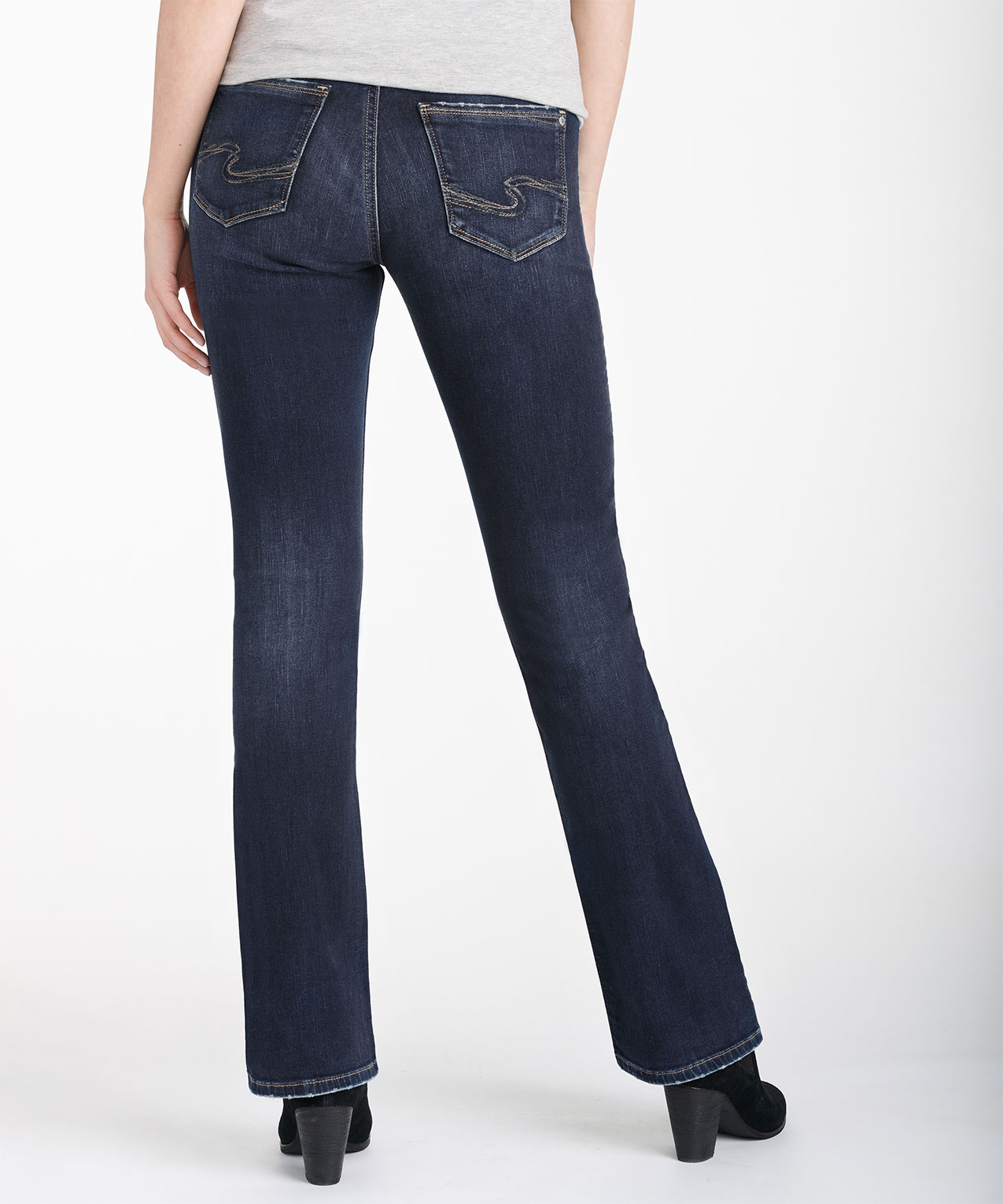 861570d6 Silver Jeans Co. Avery Slim Bootcut Jean, Dark Wash, hi-res ...