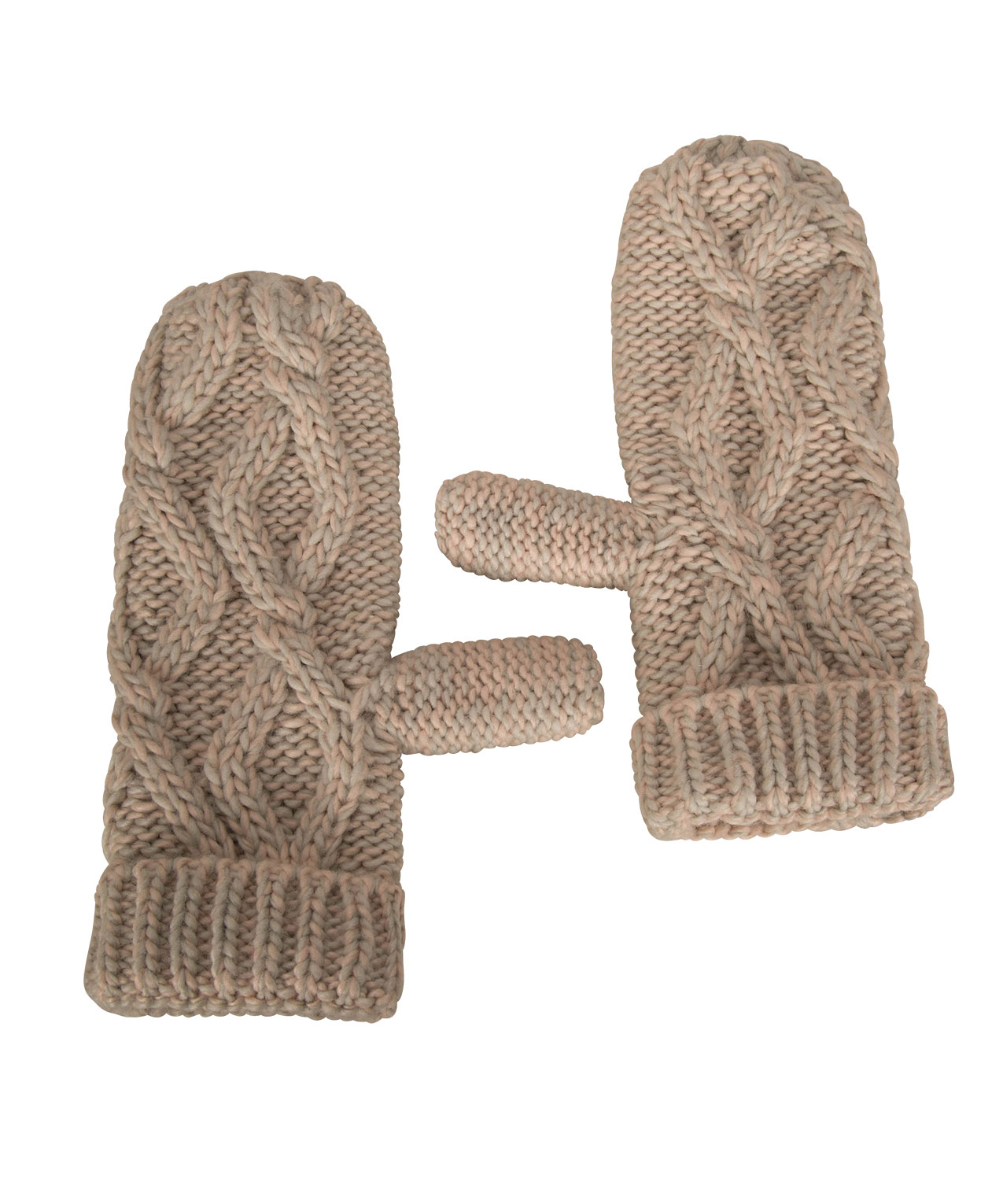 f6381183d Chunky Cable Knit Mittens   Rickis