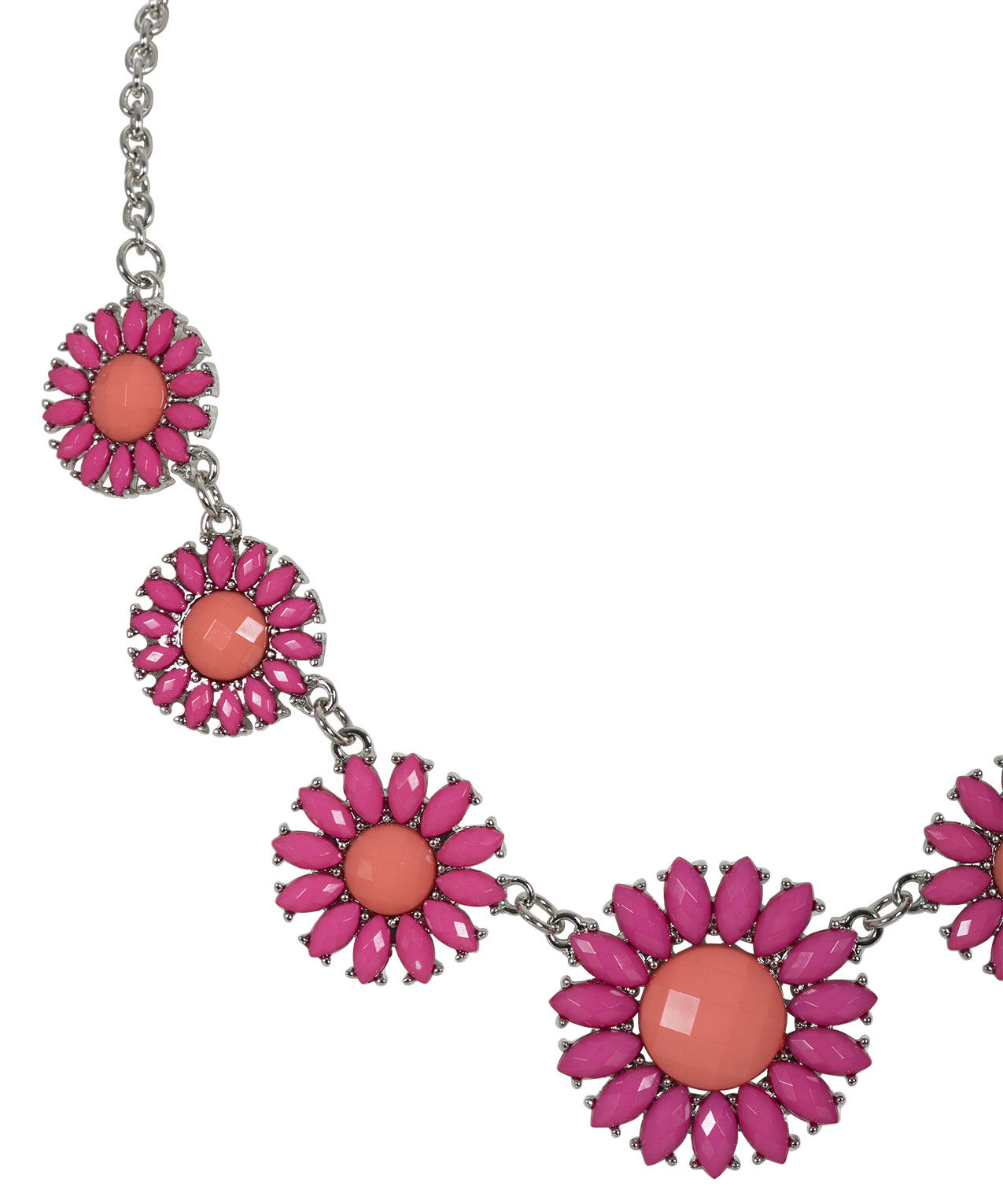 beaded zoom starfish necklace click pink alexachung to detail