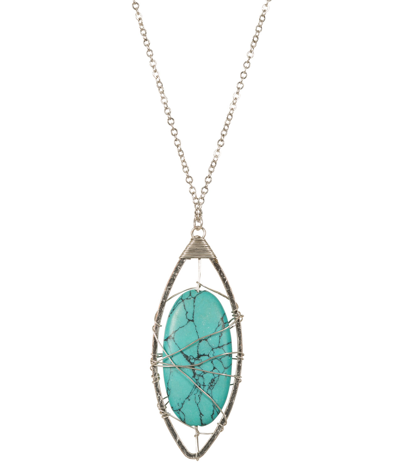 necklace pendant lane stone turquoise moon coconut products