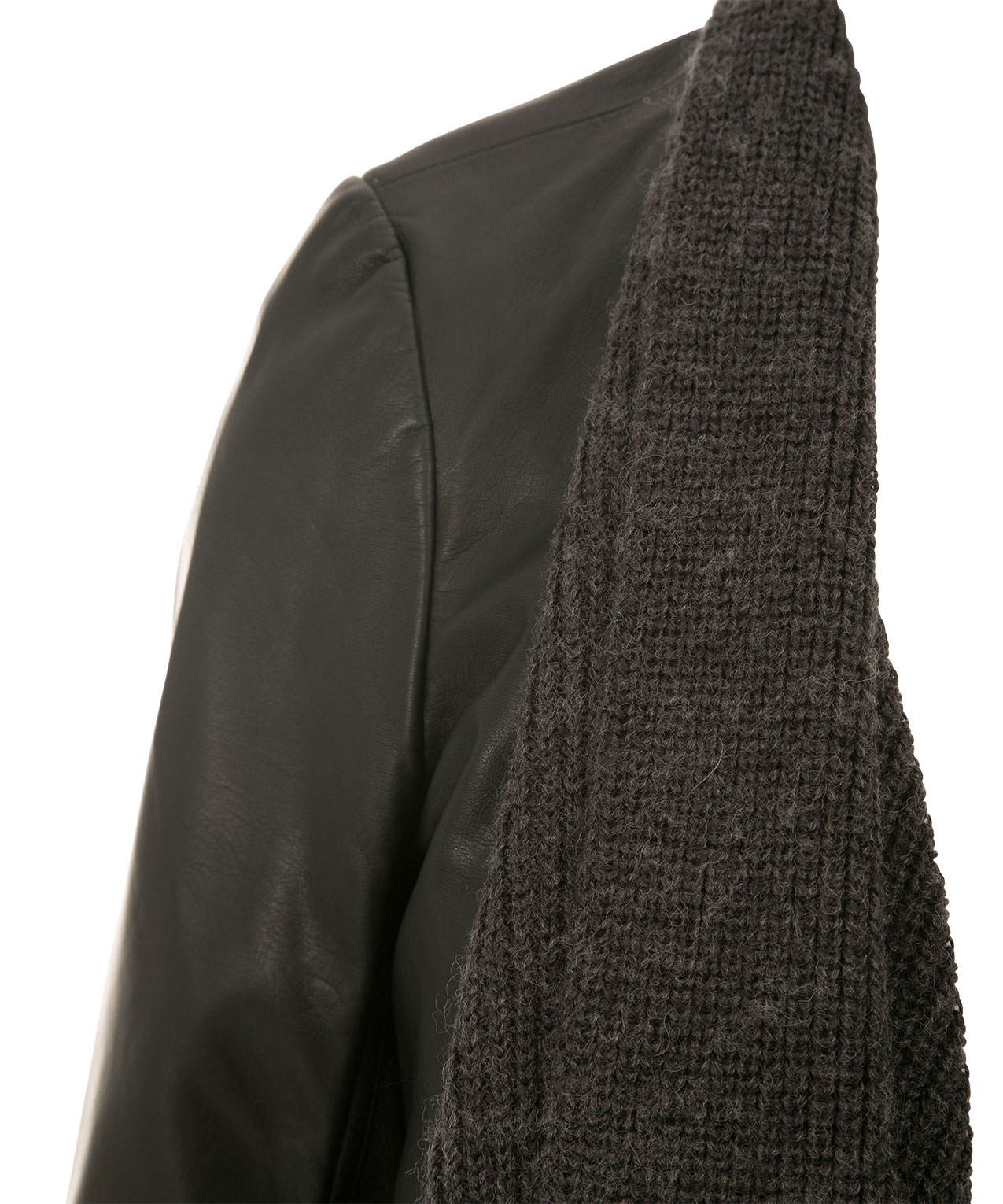 a southern boots style leather the knee jacket drapes over faux drawl winter drape fashion