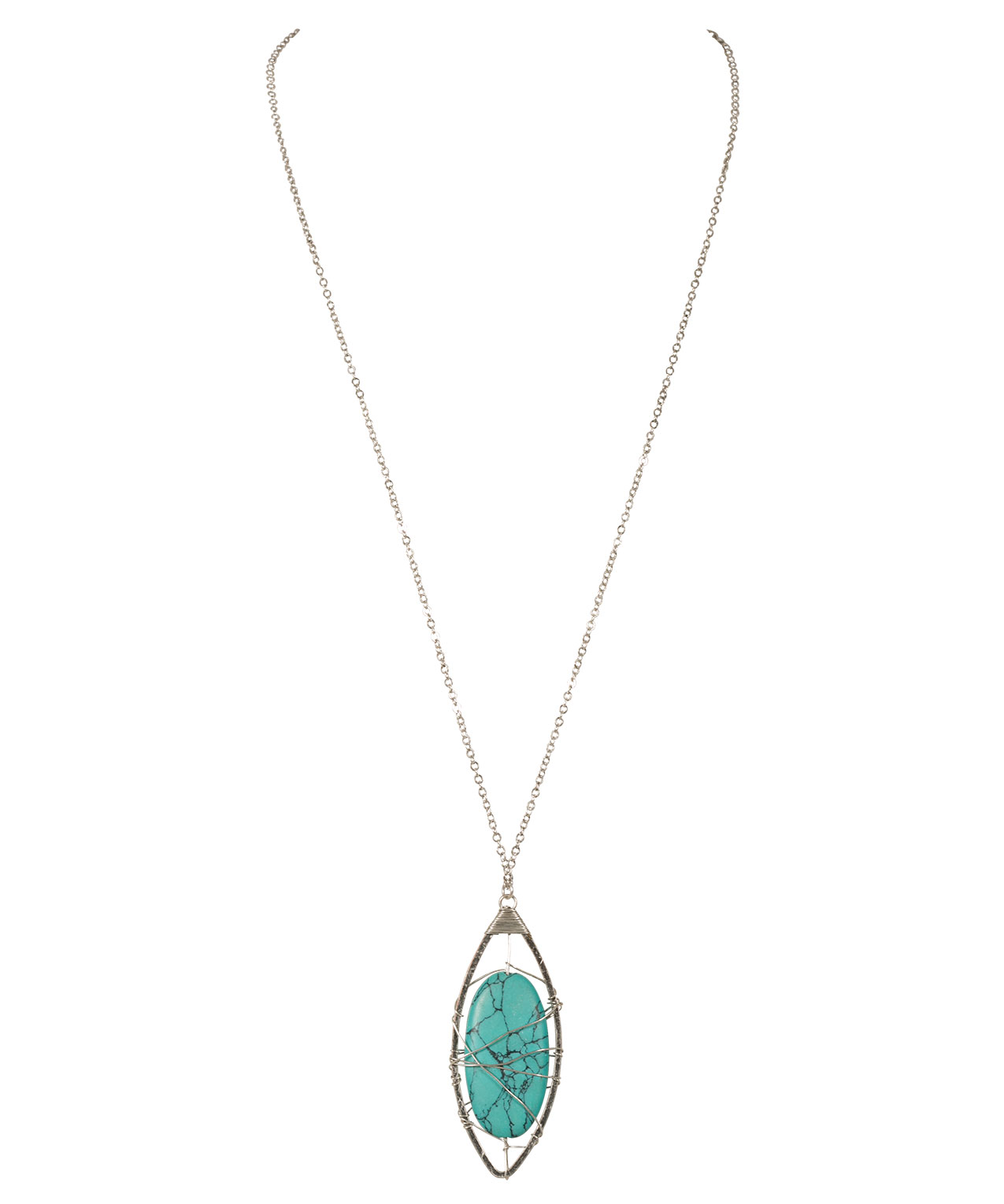 pendant necklaces vintage stone choker rough for chain peacock in new short women necklace female from decoration turquoise item clavicle