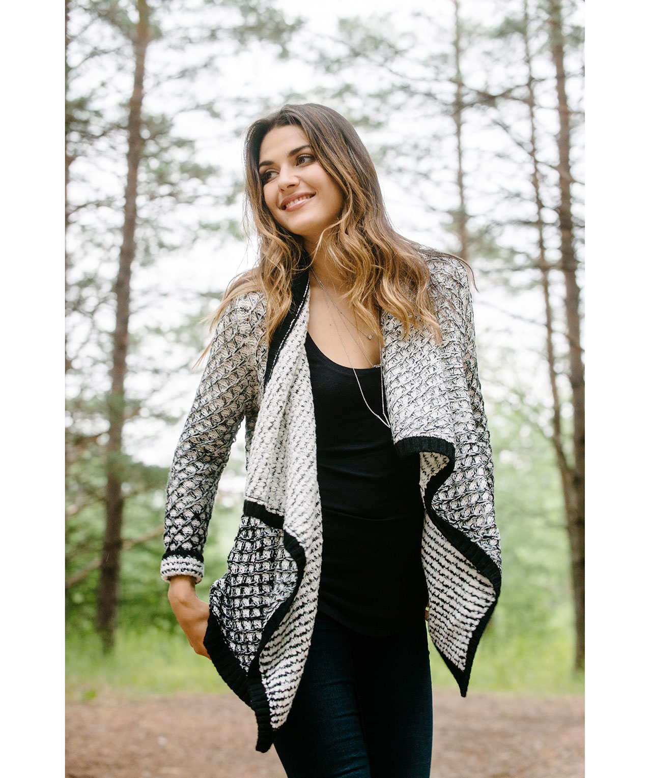Ombre Waterfall Cardigan | Rickis